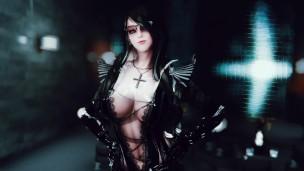 skyrim Dangerous girl in the night club(4P)